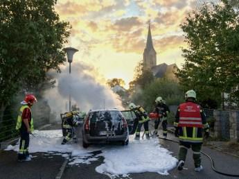PKW Brand - Feuerwehr Pregarten 2015