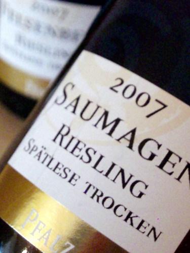 2007 Riesling Spätlese trocken Kallstadter Saumagen von Jens Bühler
