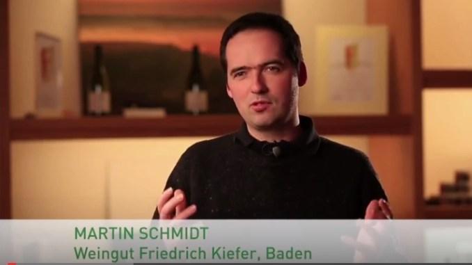 Martin Schmidt im Video Abfüllung vom DWI
