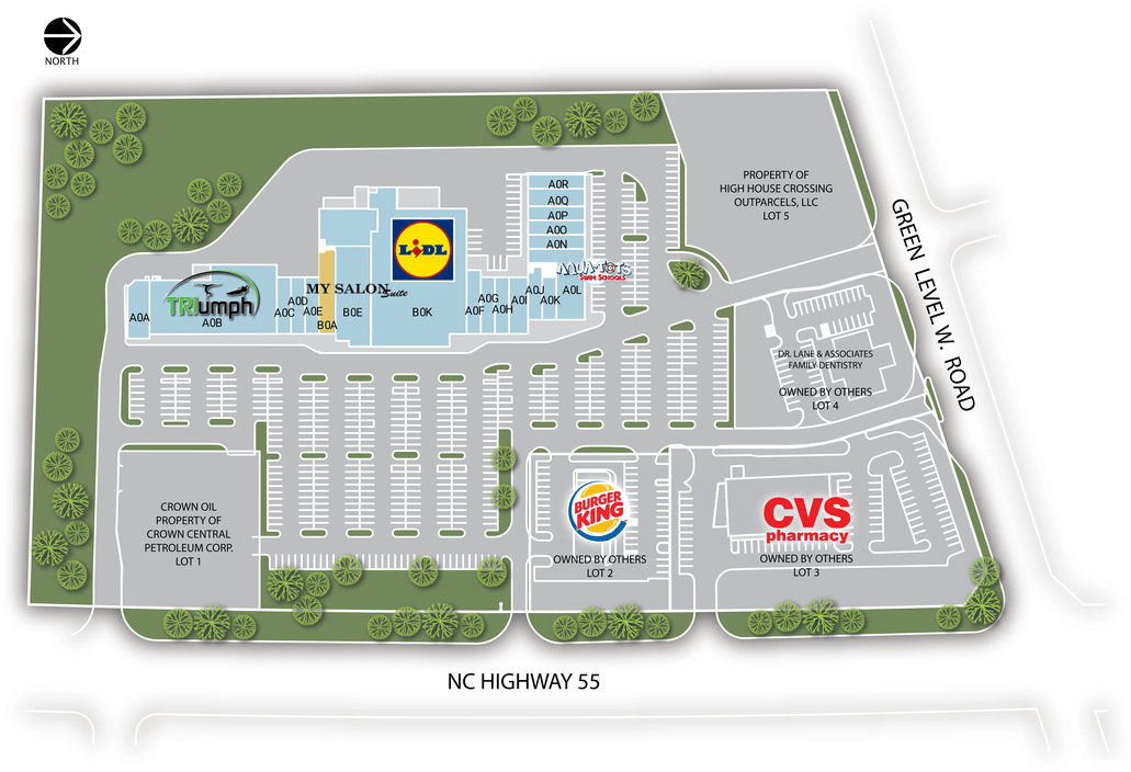 Cary Nc High House Crossing  Retail Space For Lease