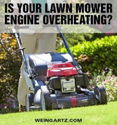lawn mower engine overheating [ 900 x 900 Pixel ]