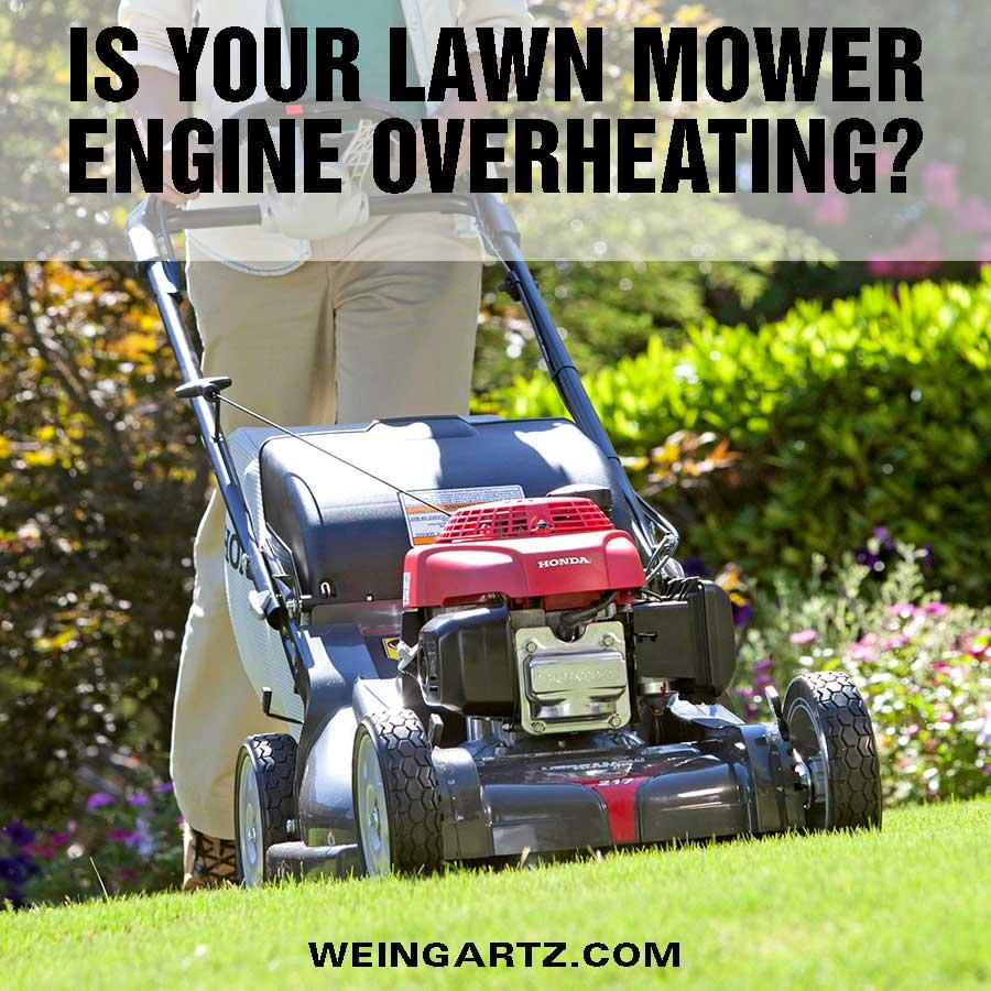 medium resolution of lawn mower engine overheating