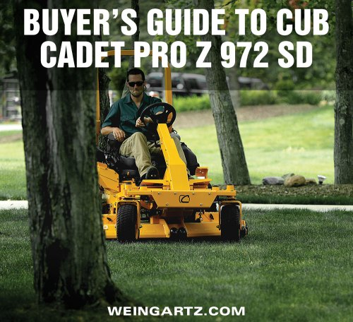 small resolution of buyer s guide to cub cadet pro z 972 sd