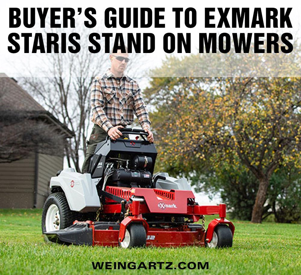 medium resolution of buyer s guide to exmark staris stand on mowers