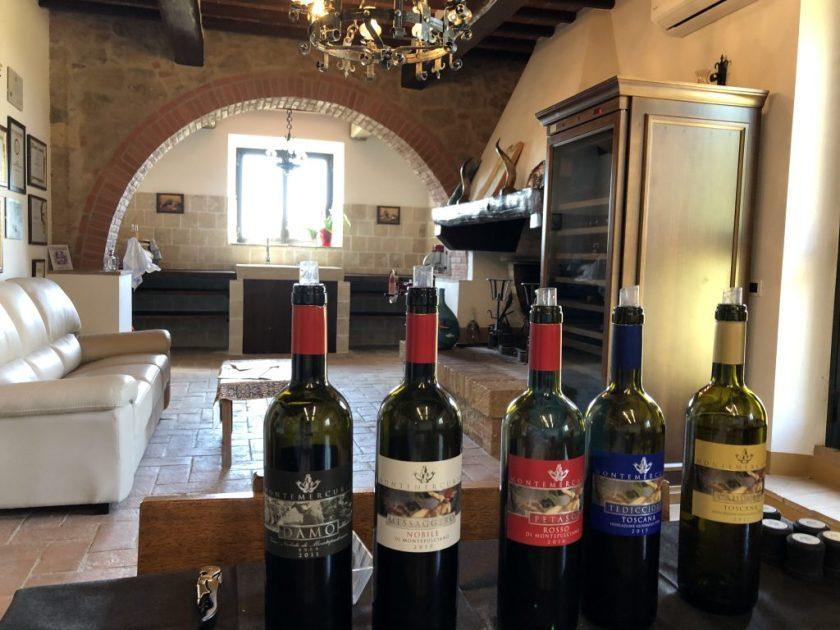 Weingut Toskana: Dort können die Weine von Montemercurio probiert werden