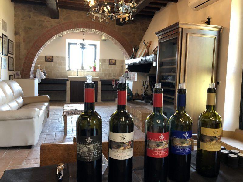 Dort können die Weine von Montemercurio probiert werden