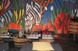 Die Zebras von Villa i Cipressi