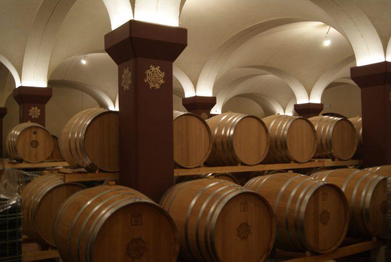 Weinkeller von Corte San Benedetto