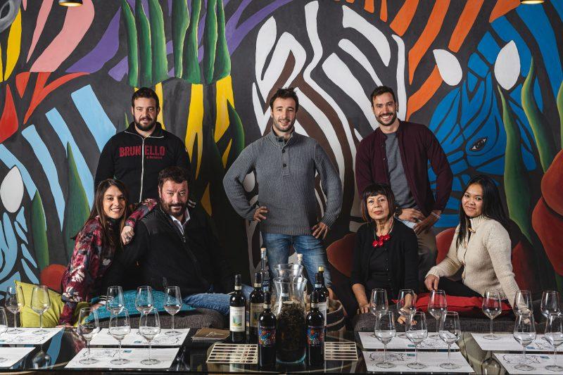 Weinverkostung bei Villa i Cipressi