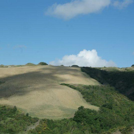 Hügel der Toskana