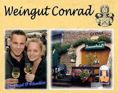 Weingut Conrad Am Steffensberg 12 - 56850 Enkirch
