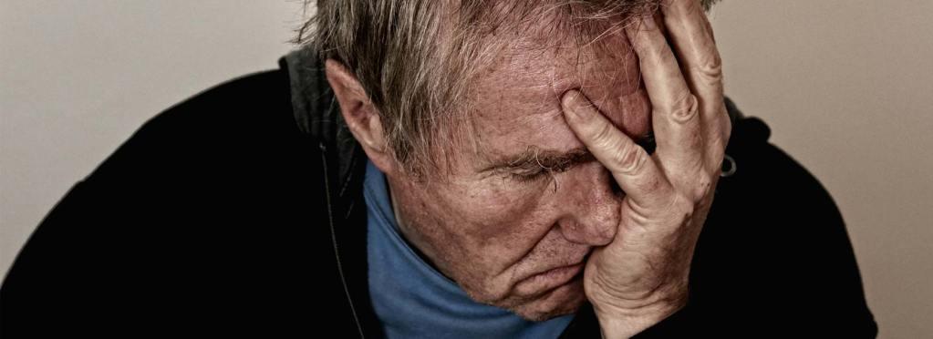 Man suffering emotional distress after a car crash