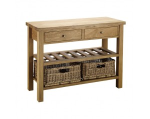 kitchen console sink basket tables shop by room furniture double table