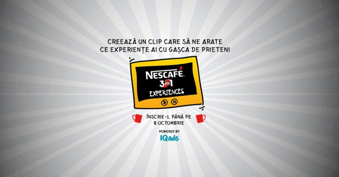 Vizual NESCAFE 3in1 Experiences