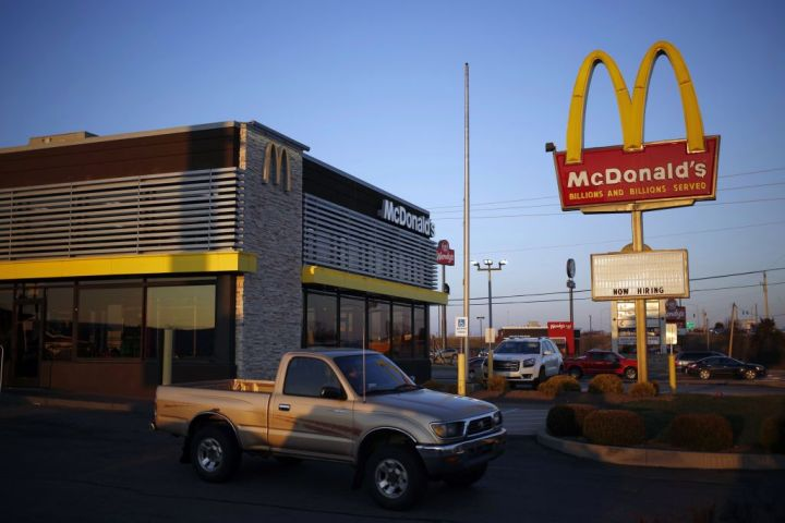 A McDonald's Corp. Restaurant Ahead Of Earnings Figures