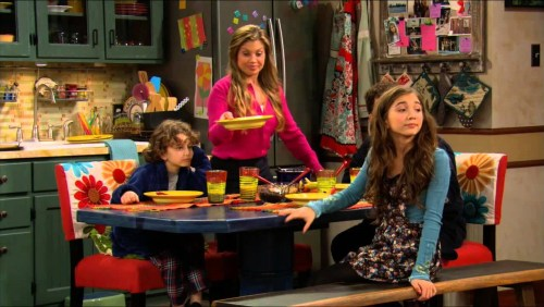 Topanga serving supper in Girl Meets World