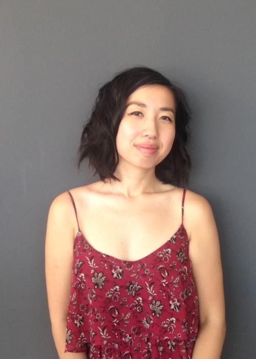 Muriel Leung, poet.