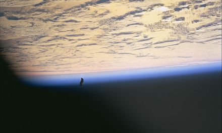 What is the Black Knight Satellite?