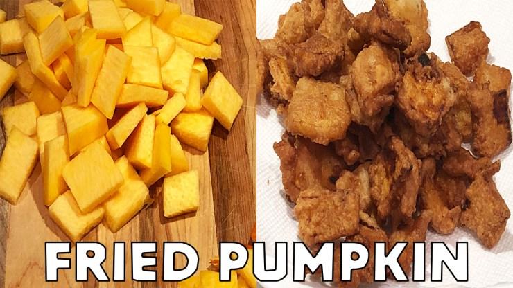 Fried Pumpkin