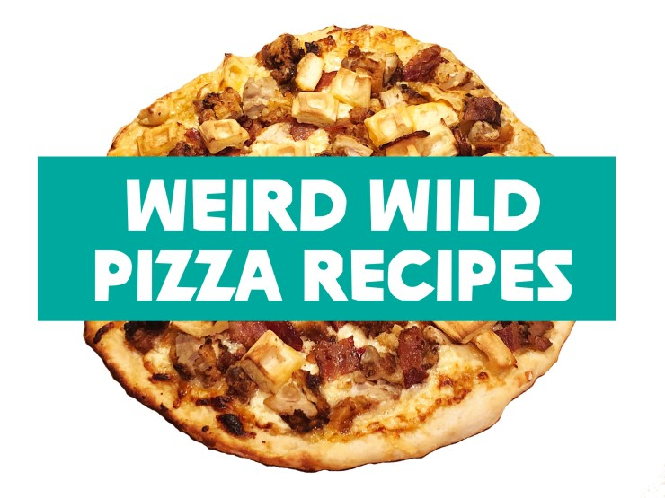 Weird Wild Pizza Recipes