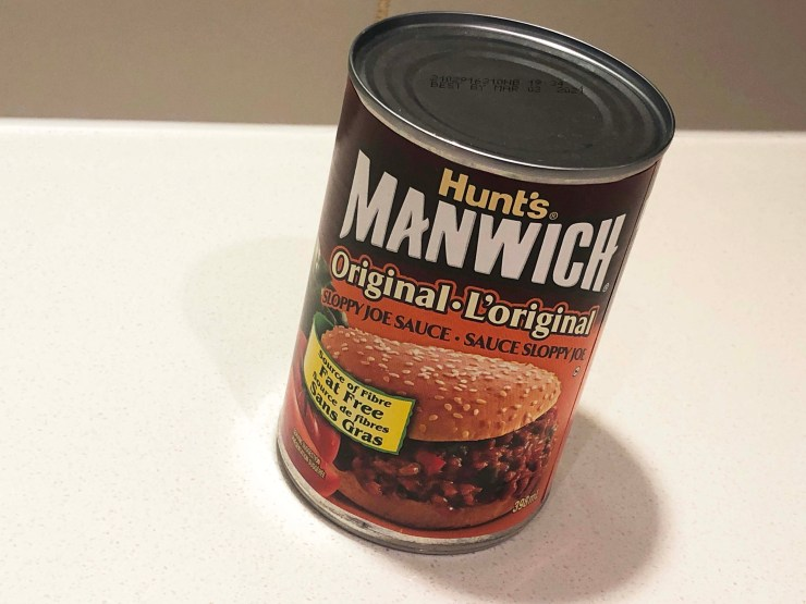 Manwhich Sloppy Joe Sauce