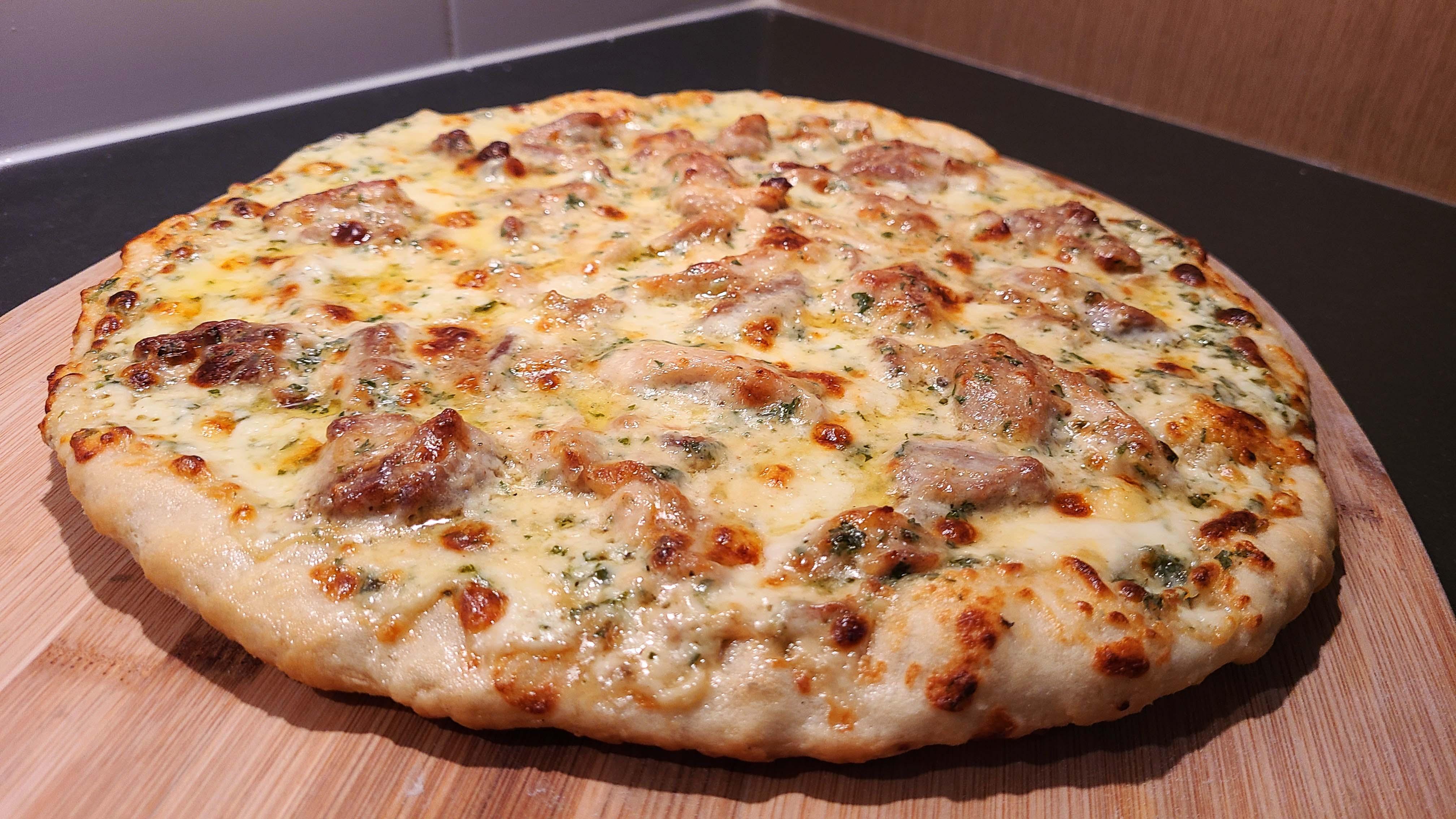Chicken Alfredo Pizza Recipe