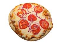Turkey Provolone Pizza with Pesto Aioli