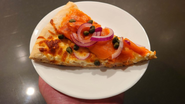 Lox Bagel Pizza Recipe