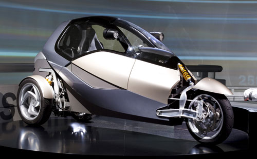 BMW simple leaning car concept
