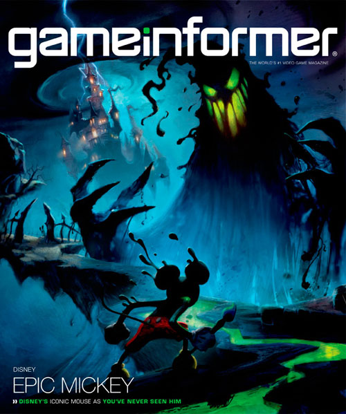 Epic Mickey Front Cover