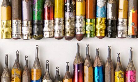 Pencil Lead Sculptures