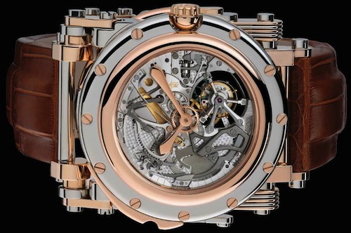 1.2 Million Dollar Watch. Steam-punk with a sprinkling of gears
