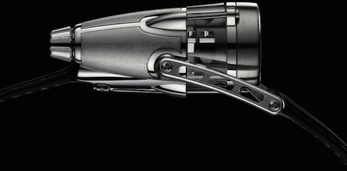 HM4 Thunderbolt watch SIDE by MB&F