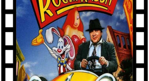 Roger Rabbit, Jessica Rabbit and Bob Hoskins