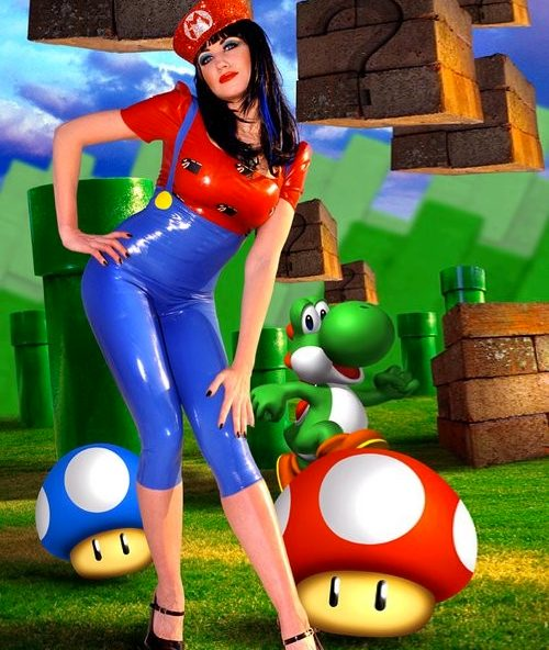 Who's The Sexiest Game Character? Mario? Wait, What!?