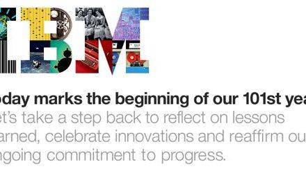 IBM Turns 100 today