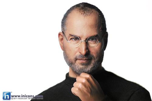 Steve Jobs Toy/Action Figure/ Doll Thing - Book cover shot
