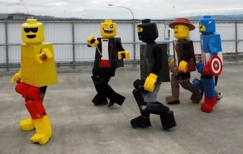 Lego Cosplay Awesomeness