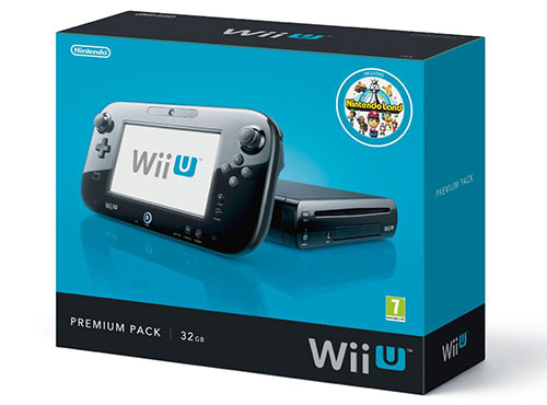 Wii U official Box art - pre-order now