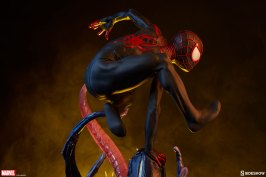 marvel spider-man Miles Morales premium-format figure from sideshow toys