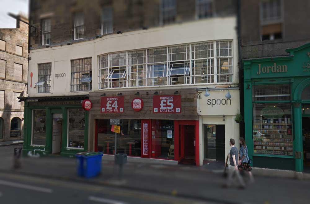 Nicholson Cafe 6a Nicholson Street, Edinburgh