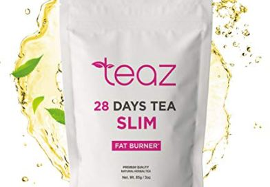 Teaz 28 Days Slim – Fat Burner Tea | For Women & Men | 85g Loose Leaf | Slim Tea for Weight Loss | Detox Tea | Diet & Fat Loss Tea | Cleanse Tea | Natural Dietary Supplement | For More Successful Diet