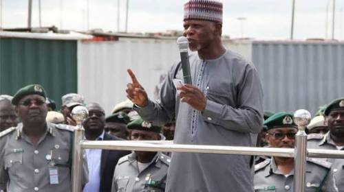 Nigeria Customs Budgets N1.6billion For Boreholes, N180million For Cleaning