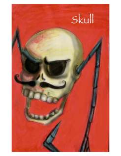 """Skull from """"The Complete Gentleman"""" by Amos Tutuola"""