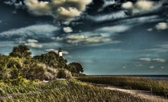 Riko Carrion's photo of a North Florida lighthouse (inspiration for Annihilation)