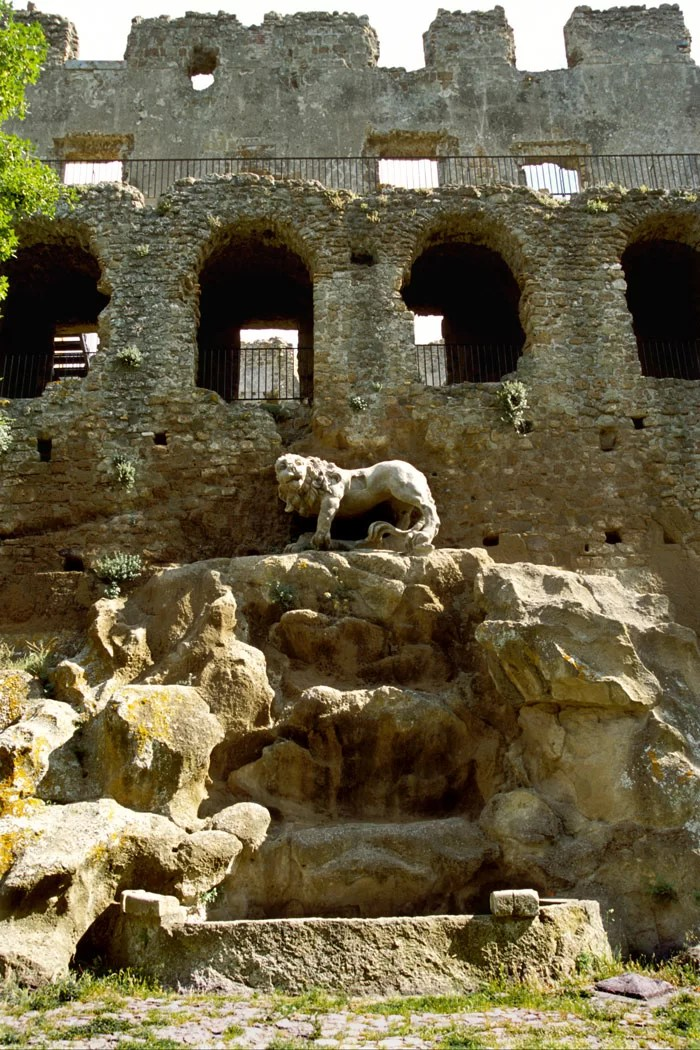 Monterano ghost town