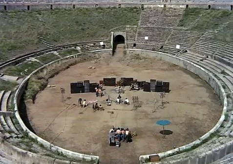 Pompeii 1972 Pink Floyd