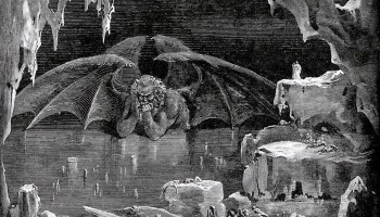Divine comedy's illustrations Lucifer,-King-of-Hell