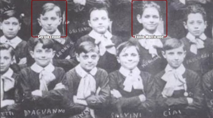 Sergio Leone and Ennio Morricone - primary school