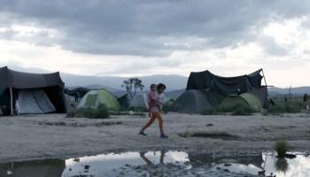 migrant children arriving in Europe